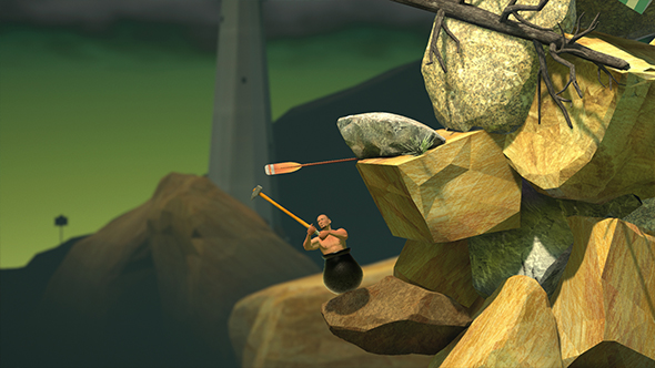 getting over it with bennett foddy qwop
