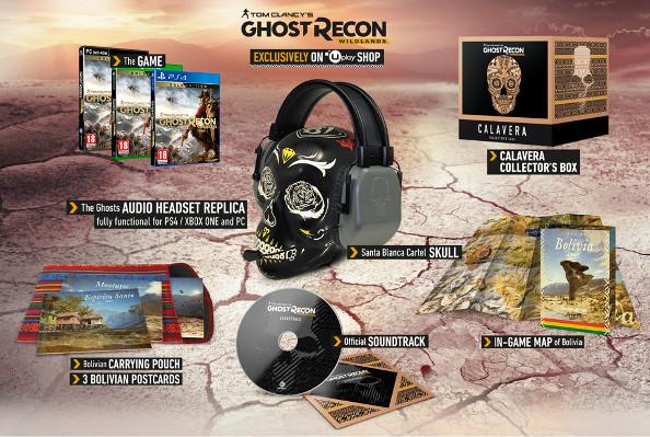 Ghost Recon: Wildlands Collector's Edition