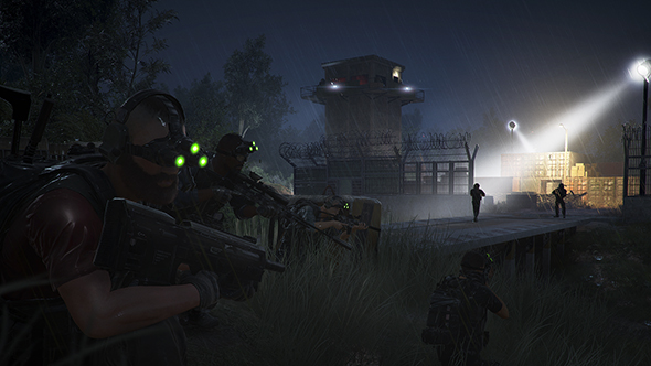 ghost recon wildlwands special operation splinter cell