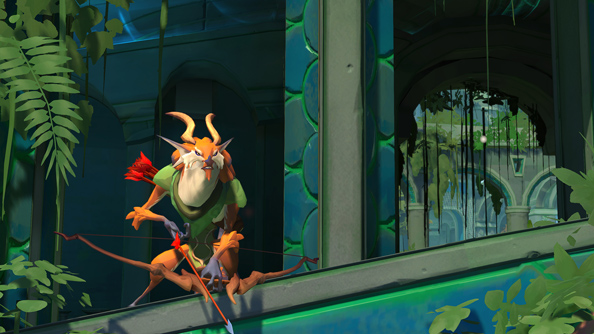 One of the smaller beasties in Gigantic.