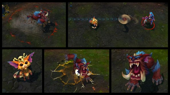 League of Legends' Gnar is always angry in its Champion Spotlight