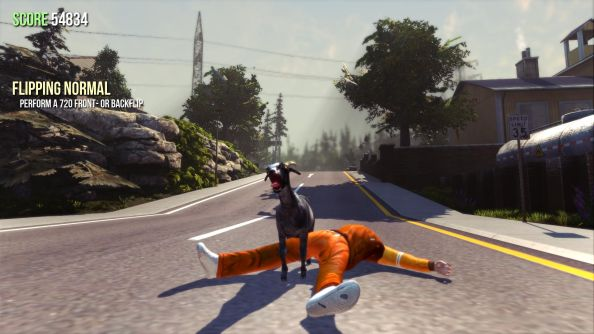 Goat Simulator: the best game never made for kids.
