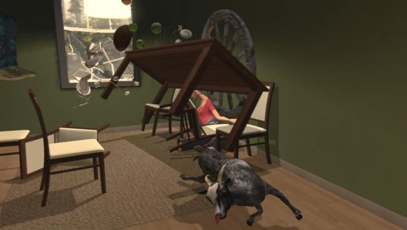 The problem with patching Goat Simulator: how do you know which physics bugs to keep?