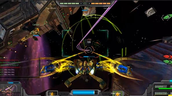 GoD Factory: Wingmen footage shows star-spangled multiplayer spacefighting