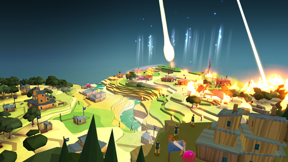 Godus coming to Steam Early Access on 13 September. New trailer has burning people. Lots of them