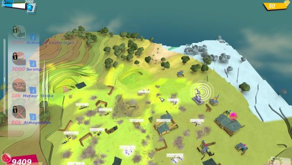 Godus might be a god game, but its own creators are pushing their limits.