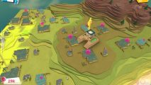 Godus is still fundamentally a game about flattening terrain - strategy, sadly, does not enter into it.