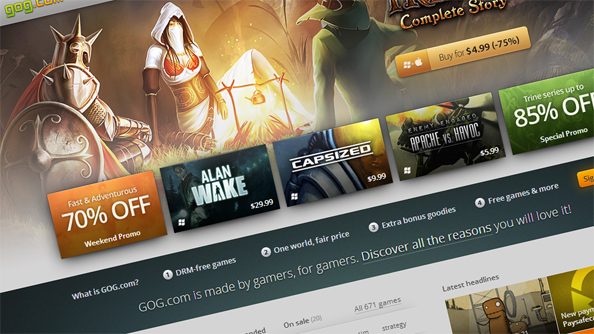 GOG to use regional pricing for bigger releases