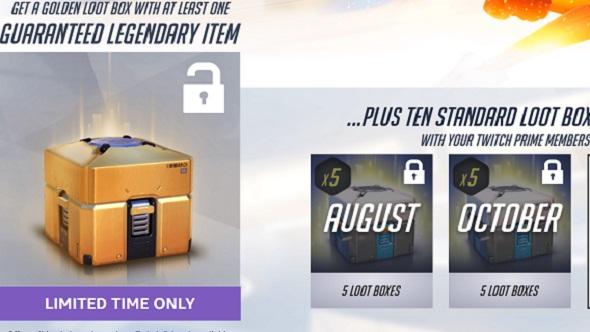 golden loot box overwatch