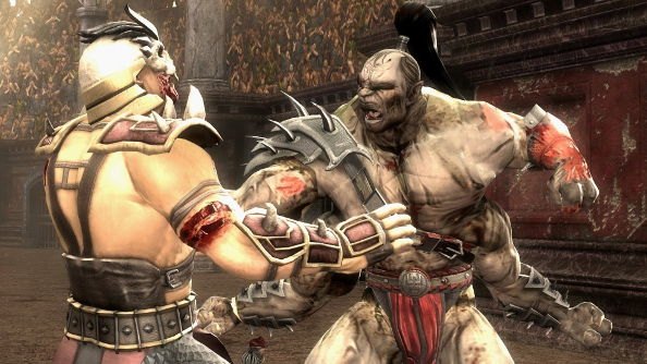 Mortal Kombat X launches in April, but it'll be without Goro unless you pre-order it