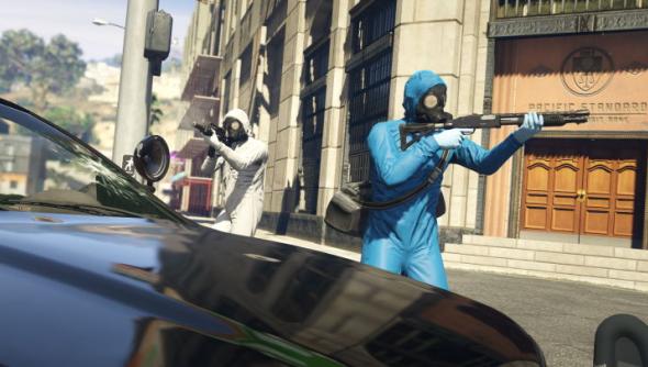 grand theft auto 5 trailer GTA 5 trailer heists Rockstar Games Rockstar North
