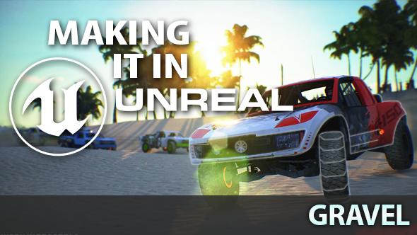 Gravel Unreal Engine 4