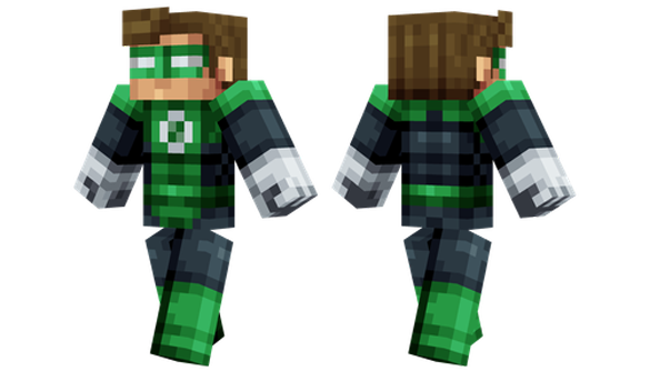 best minecraft skins Green Lantern