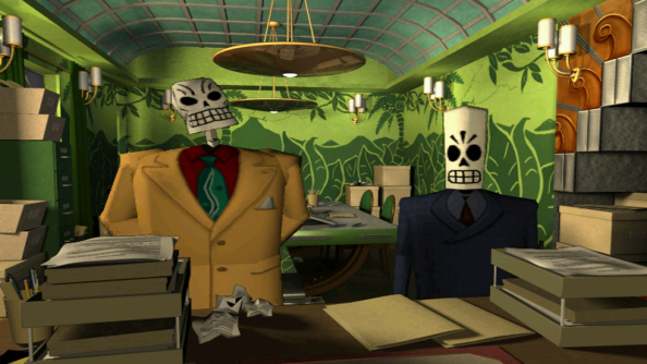 Grim Fandango no longer controls like a tank thanks to this new point and click mod