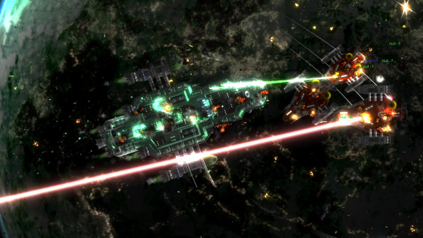 "Cliff Harris on Gratuitous Space Battles 2: it's a ""whole new world"""