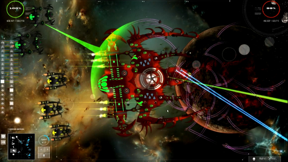Gratuitous Space Battles 2 now has flying saucers, obedient fighters and handy energy beams