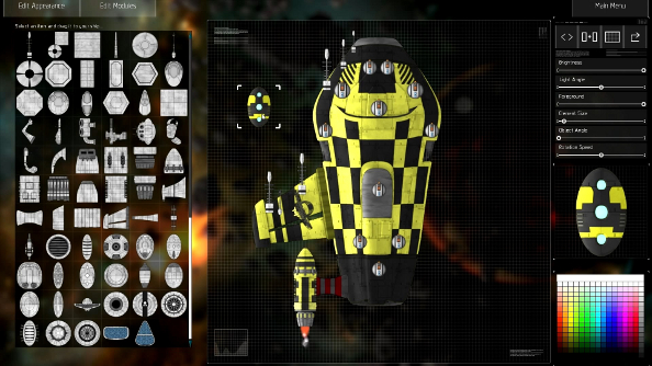 Building gaudy ships in Gratuitous Space Battles 2