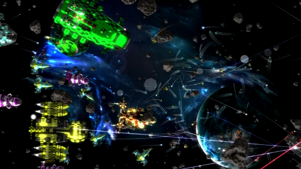Gratuitous Space Battles 2 puts on quite the light show