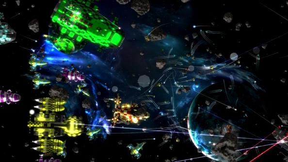 Gratuitous Space Battles 2 puts on quite the light show
