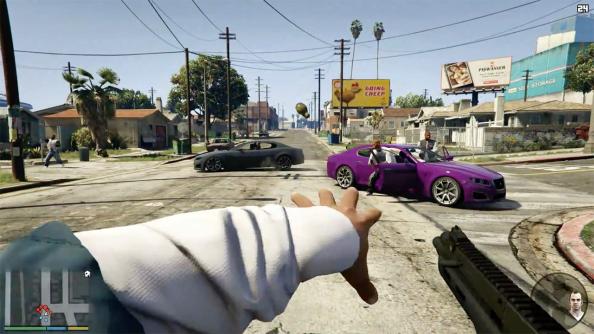 gta v vr grand theft auto 5 virtual reality rockstar take-two