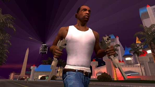 GTA: San Andreas featured some pretty compelling gang warfare, too.