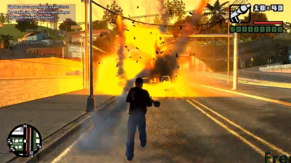 Grand Theft Auto IV: San Andreas total conversion ports San Andreas into GTA IV