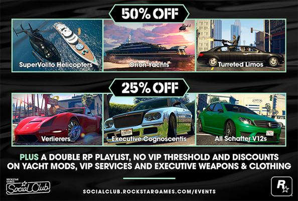 GTA Online offers