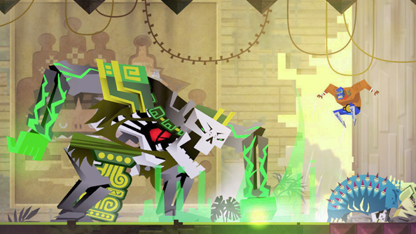 Guacamelee! is coming to PC in a week; Mutant Blobs Attack bundled free