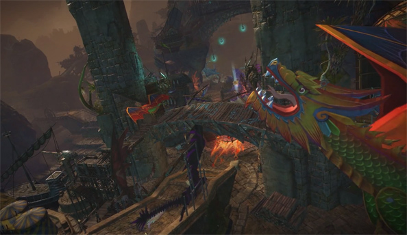 Guild Wars 2 Dragon Bash festival promises fireworks, mini-games and holographic wings