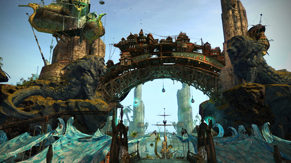 Guild Wars 2's first city comes apart at the seams in February 18's Escape from Lion's Arch