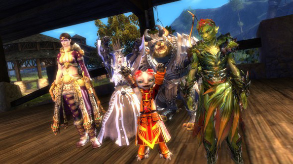 Guild Wars 2 megaservers will fill underpopulated maps with players from April 15