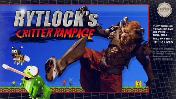 Guild Wars 2 Super Adventure Box retro platformer Rytlock's Critter Rampage released. Kicking rabbits harder than you'd expect