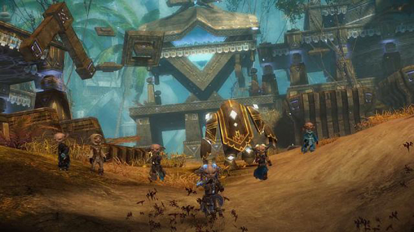 Guild Wars 2: gorgeous and silly all at once.