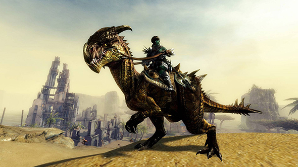 Guild Wars 2 shows off rideable velociraptors and giant bunnies