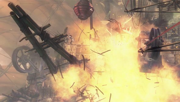 The Gates of Maguuma: airships are sort of asking for it.