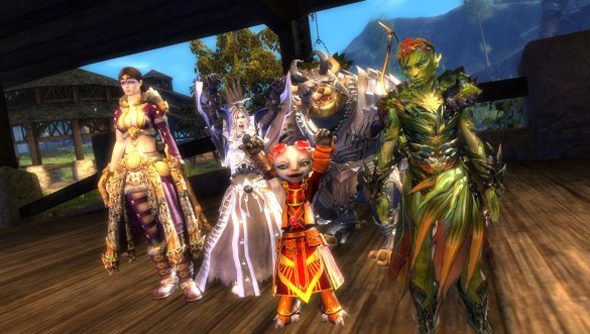 Guild Wars 2 megaservers will begin rolling out on April 15.