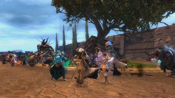 Guild Wars 2 pride march