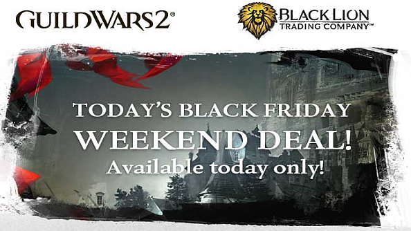 Guild Wars 2 Black Friday sales - digital deluxe and gem store prices slashed