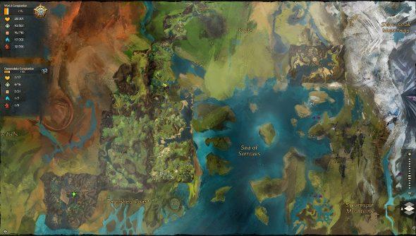 Guild Wars 2 living atlas