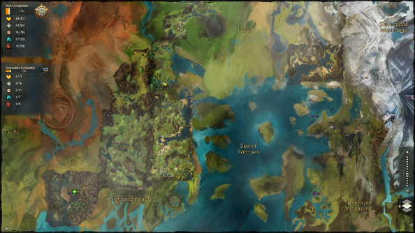 While Lion's Arch burns, ArenaNet fiddles around with an interactive Guild Wars 2 atlas
