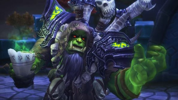 There's a World of Warcraft easter egg that turns you into a raid boss