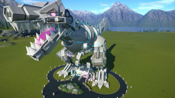 planet coaster gulpee rex