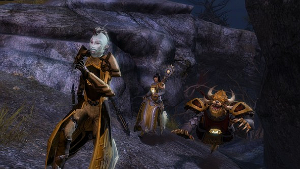 Here's a sneak peak at Guild Wars 2's upcoming guild missions