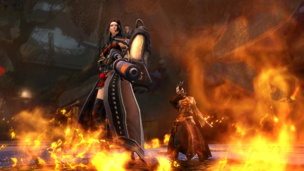 "Guild Wars 2 president says ""this was the perfect moment"" for free to play and raiding"