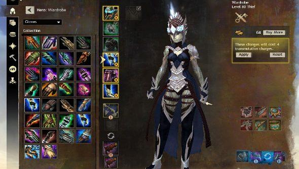 Guild Wars 2's Wardrobe System detailed