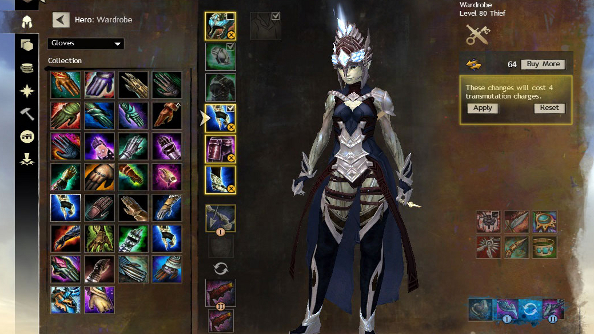 Guild Wars 2's Wardrobe System detailed
