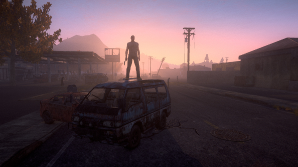 H1Z1: a sandbox where you can build a fortress and then set fire to brawling wolves and zombies