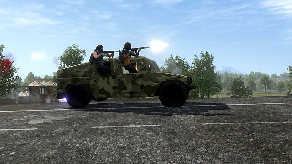 H1Z1 Hummvee
