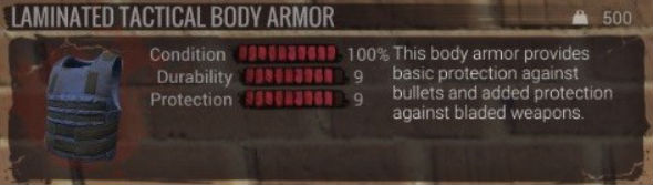H1Z1 king of the kill laminated tactical body armor