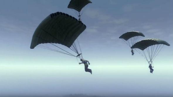 H1Z1 king of the kill parachute